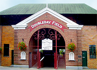 Entrance to Doubleday Field in Cooperstown